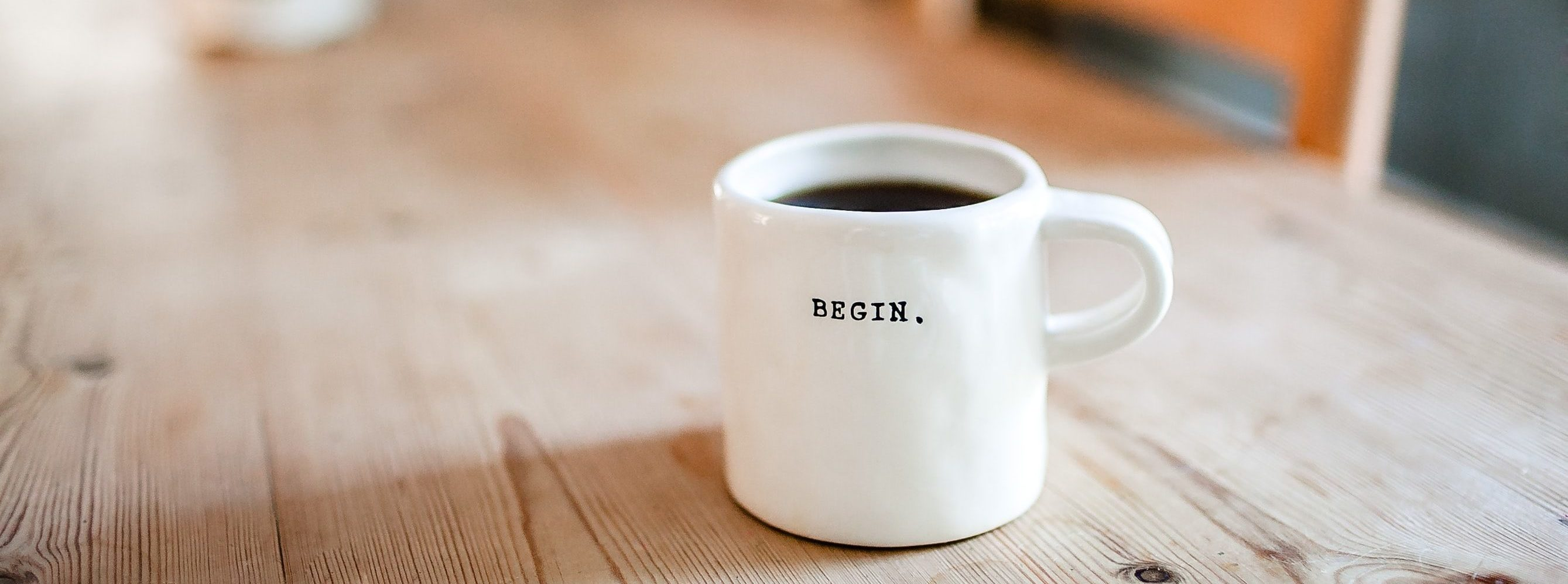 image of coffee mug on a desk